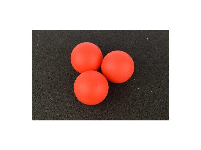 Lakrosová loptička červená