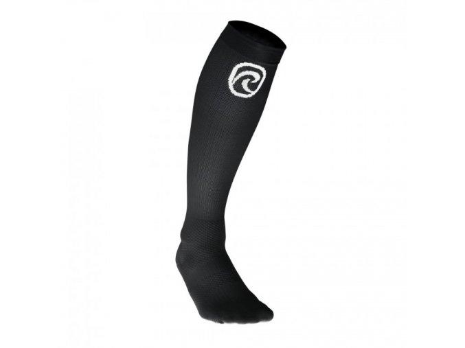 607106 rehband comression line compression sock black front 5