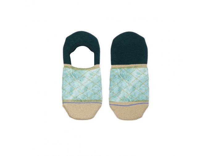 Dámske kotníkové ponožky XPOOOS Marble 72013