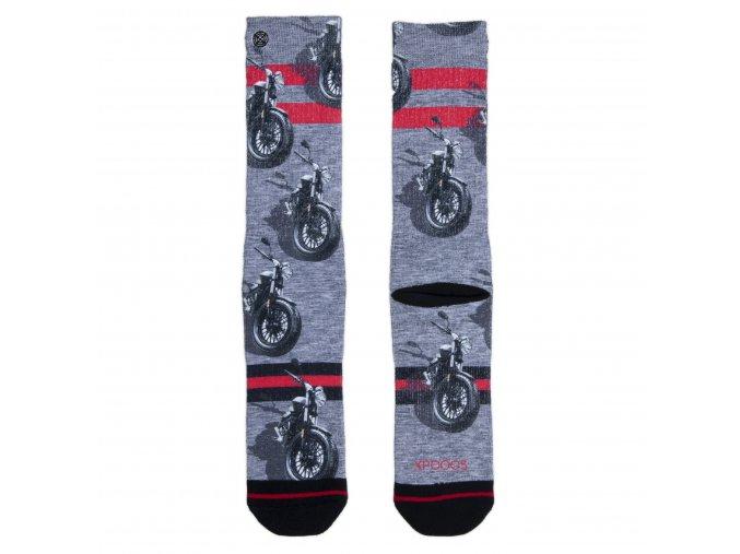 Pánske ponožky XPOOOS Motor 60165