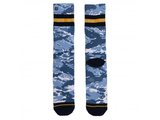 Pánske ponožky XPOOOS Coffee 60166