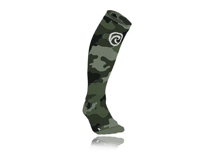 607117 01 qd compression socks camo front lr