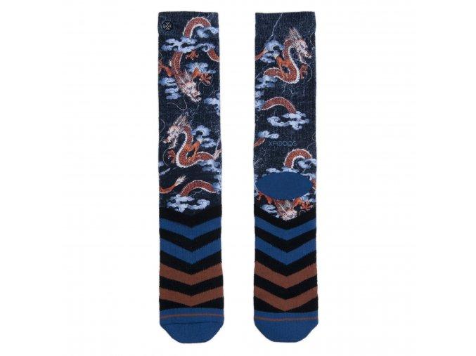 Pánske ponožky XPOOOS Dragon 60159