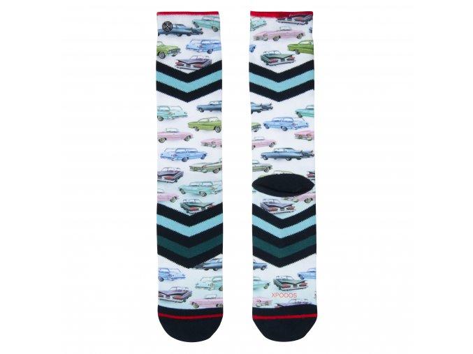 Pánske ponožky XPOOOS Carshow 60174 20