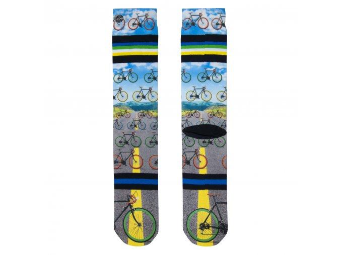 Pánske ponožky XPOOOS Bike 60186 20
