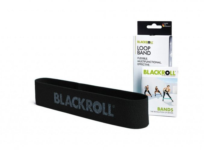 6341 blackroll loop band black