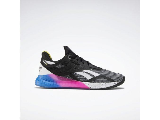 Reebok Nano X Shoes Black FW8208 01 standard