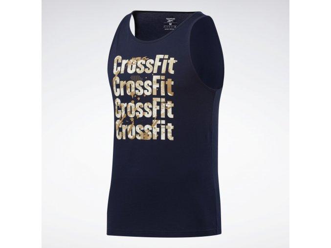 Reebok CrossFit(r) Games Logo Tank Top Blue FU1787 13 standard