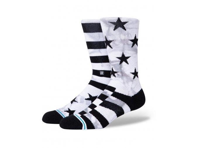 stance hewes crew socks white a558b20hew wht b