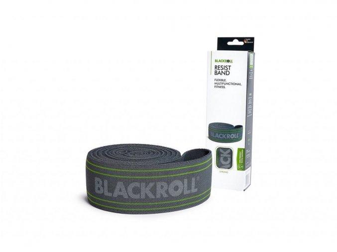 6489 blackroll resist band grau mit verpackung