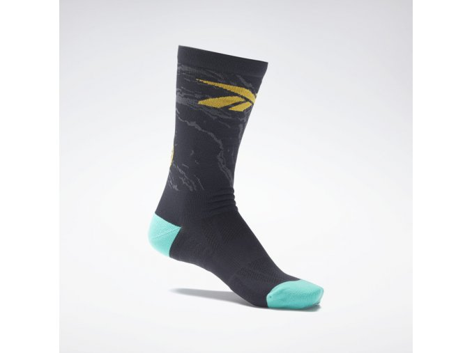 Tech Style Fury Crew Socks Black H37104 02 standard