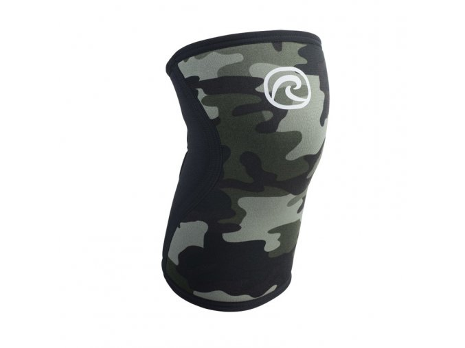 7751 rehband rx line knee support 5mm camoblack high res front