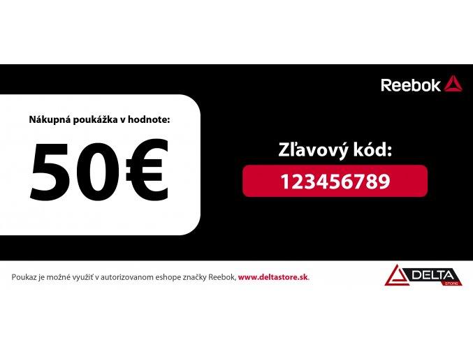 Darčekový kupón v hodnote 50 €
