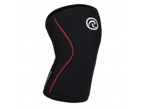 105436 Rehband Rx Line Knee Support 7mm BlackRed Front highres