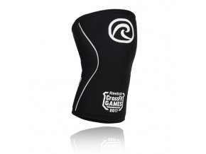 105406 04 Rehband Rx Line Knee Support 7mm CrossFit Games Limited Edition Black Front lowres