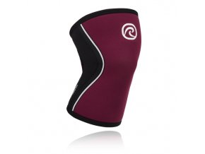 105314 Rehband Rx Line Knee Support 5mm Burgundy front lowres