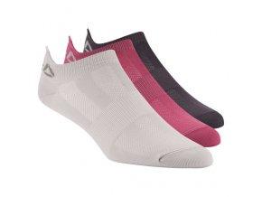 Reebok CrossFit® dámske kotníkové ponožky D67937 3ks