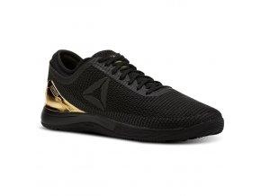 b3dc8f34c46 Reebok CrossFit® Nano 8 FlexWeave Dámske tenisky Black  True Gold D56069