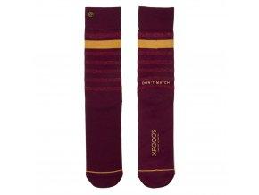 Pánske ponožky XPOOOS Essential Red