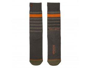 Pánske ponožky XPOOOS Essential Khaki