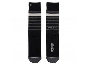 Pánske ponožky XPOOOS Essential Black
