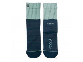 Dámske ponožky XPOOOS Essential Blue 77001-4510