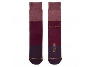 Pánske ponožky XPOOOS Essential Red/red