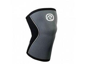 105409 01 rx knee sleeve 7mm steel grey front hr