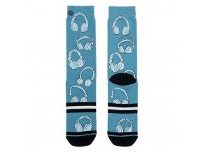 Pánske ponožky XPOOOS Headphone