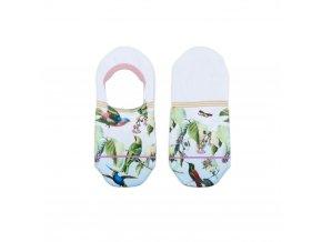 Dámske kotníkové ponožky XPOOOS Birdie 72012