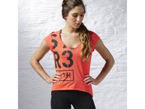 Reebok CrossFit® Dámske tričko AB4191