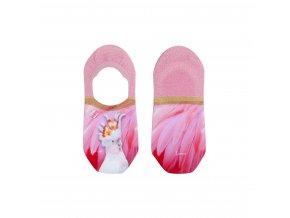 Dámske kotníkové ponožky XPOOOS Parrot 72025