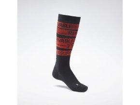 CrossFit(r) Engineered Crew Socks Black GH1552 02 standard