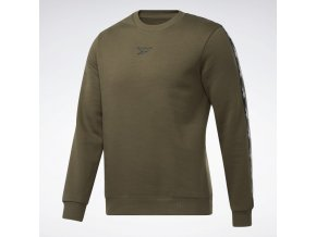 Training Essentials Tape Crew Sweatshirt Green GQ4210 13 standard