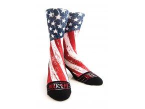 Kompresné ponožky ROCK´EM Star Stripes