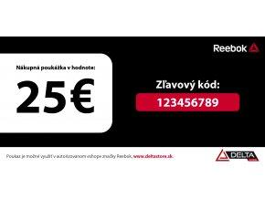 Darčekový kupón v hodnote 25 €