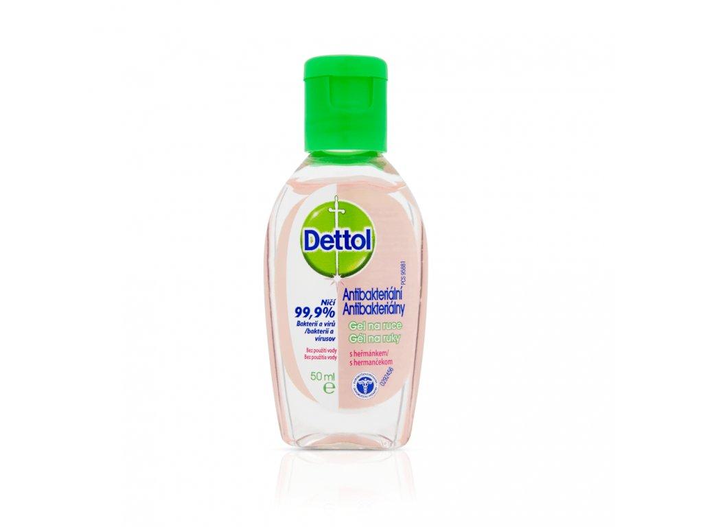 DETTOL dezinfekcni gel na ruce s hermankem 50 ml