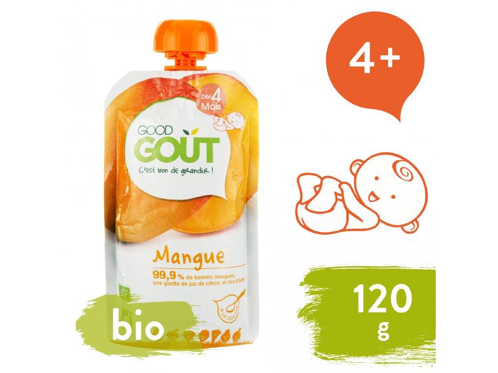 Good Gout BIO Mango 120 g