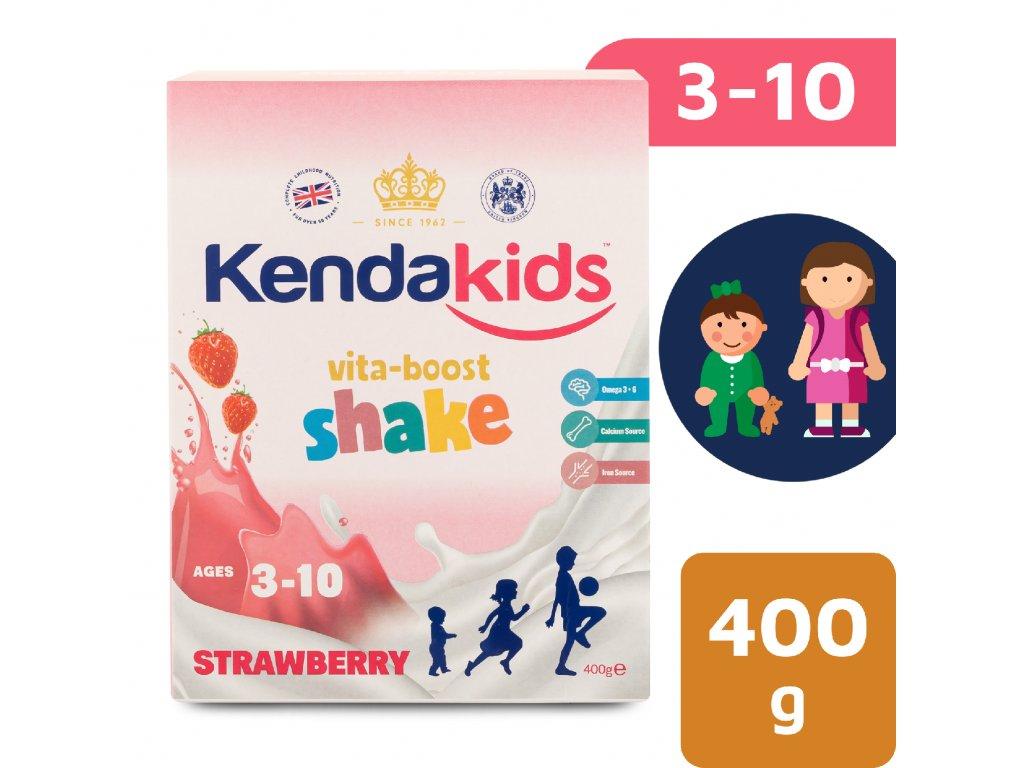 Kendakids instantní nápoj pro děti s příchutí jahoda 400 g