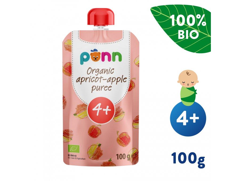 SALVEST Põnn BIO Meruňka s jablkem 100 g