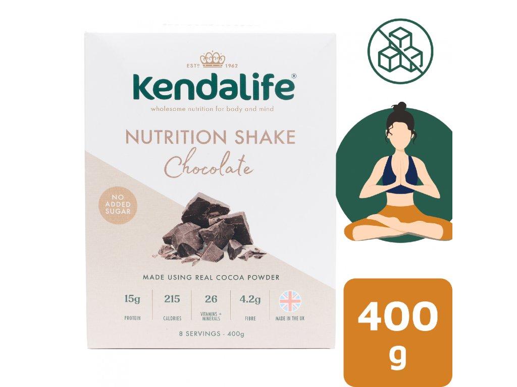 Kendalife proteinový nápoj čokoláda 400 g