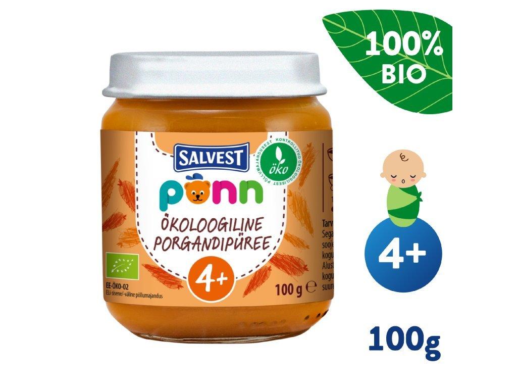 salvest ponn bio mrkvove pyre 100 g 1