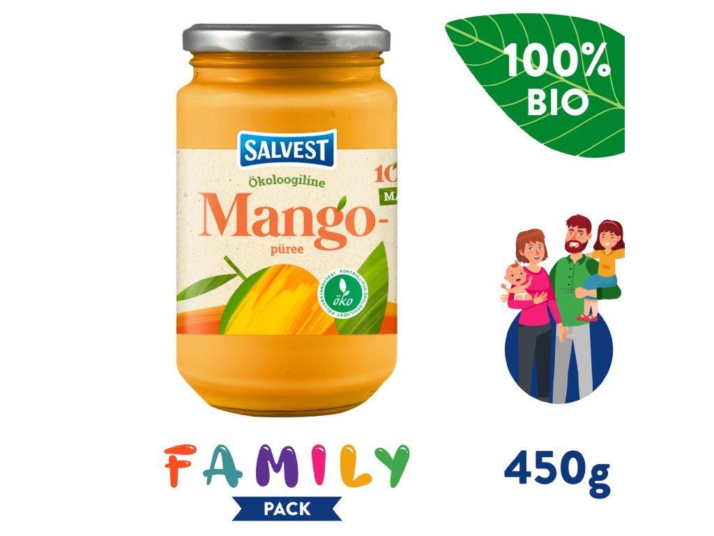 salvest family bio mango 100 450 g 1