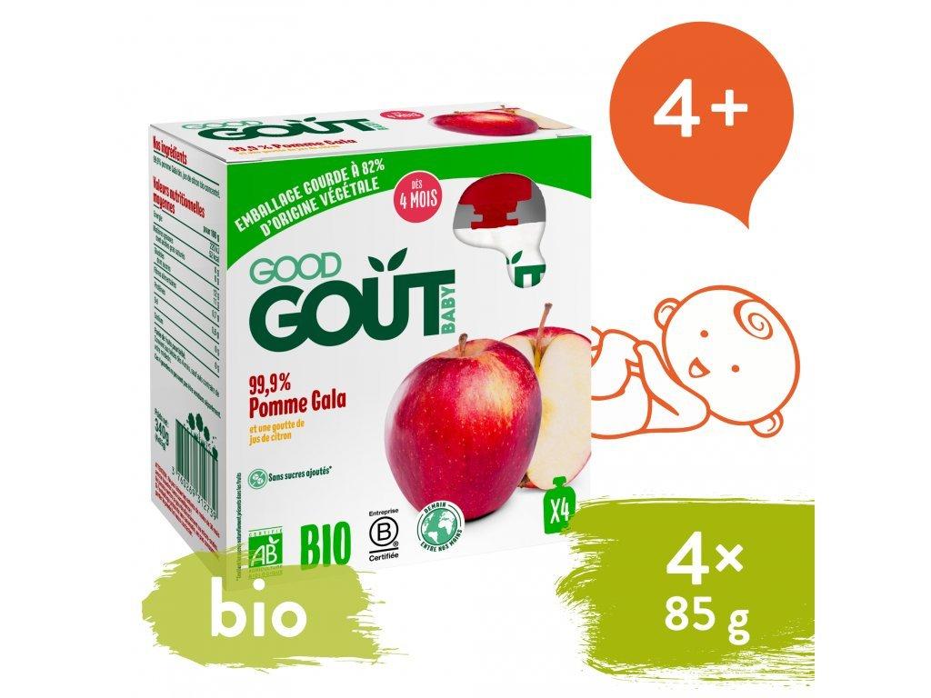 good gout bio jablko 4x85 g 1