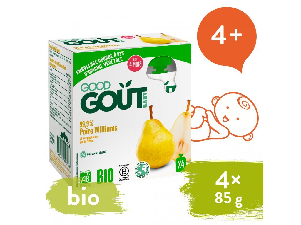 good gout bio hruska 4x85 g 1
