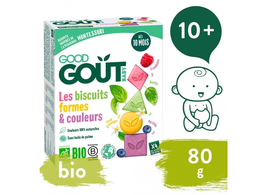 good gout bio susenky barvy tvary 80 g 1