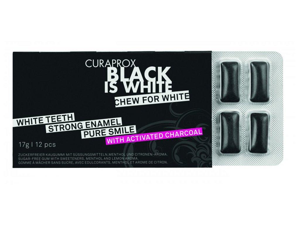 curaprox black is white zvykacky 12 ks1