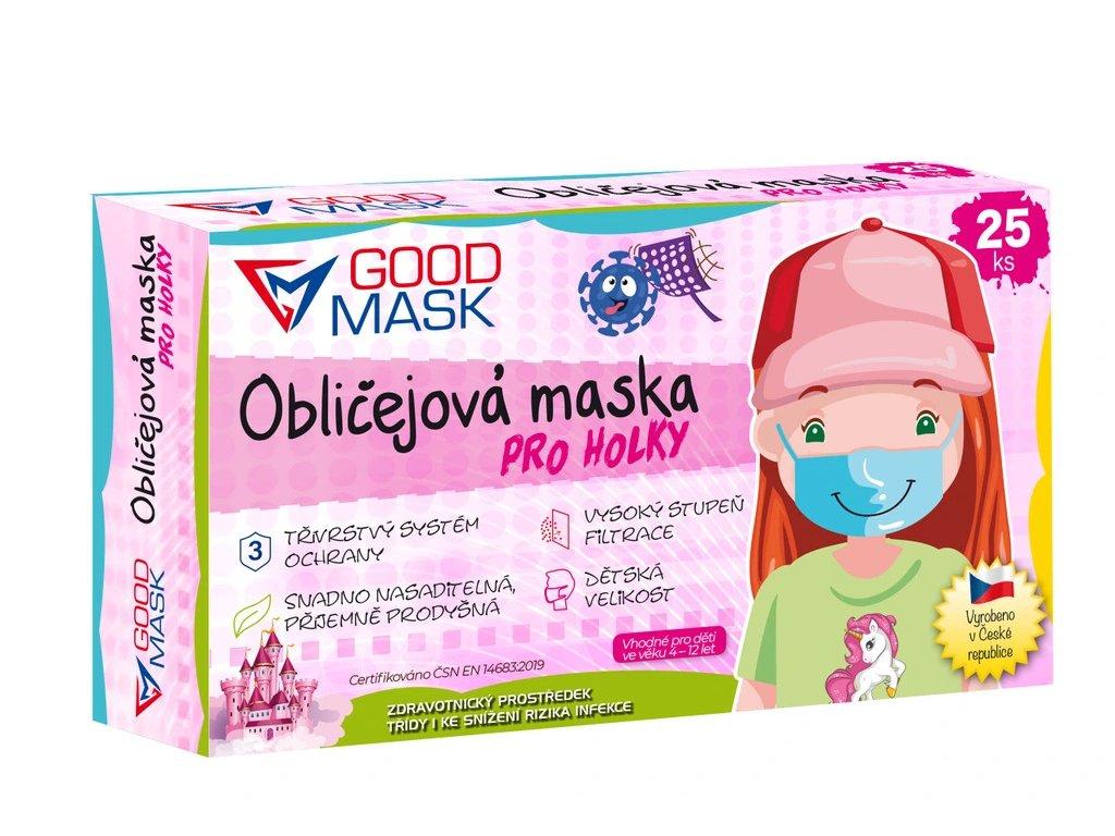 detske ochranne rousky pro holky 25 ks bila barva 1