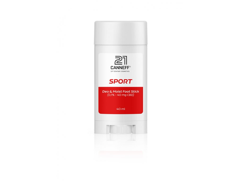 canneff sport deo moist foot stick 40 ml