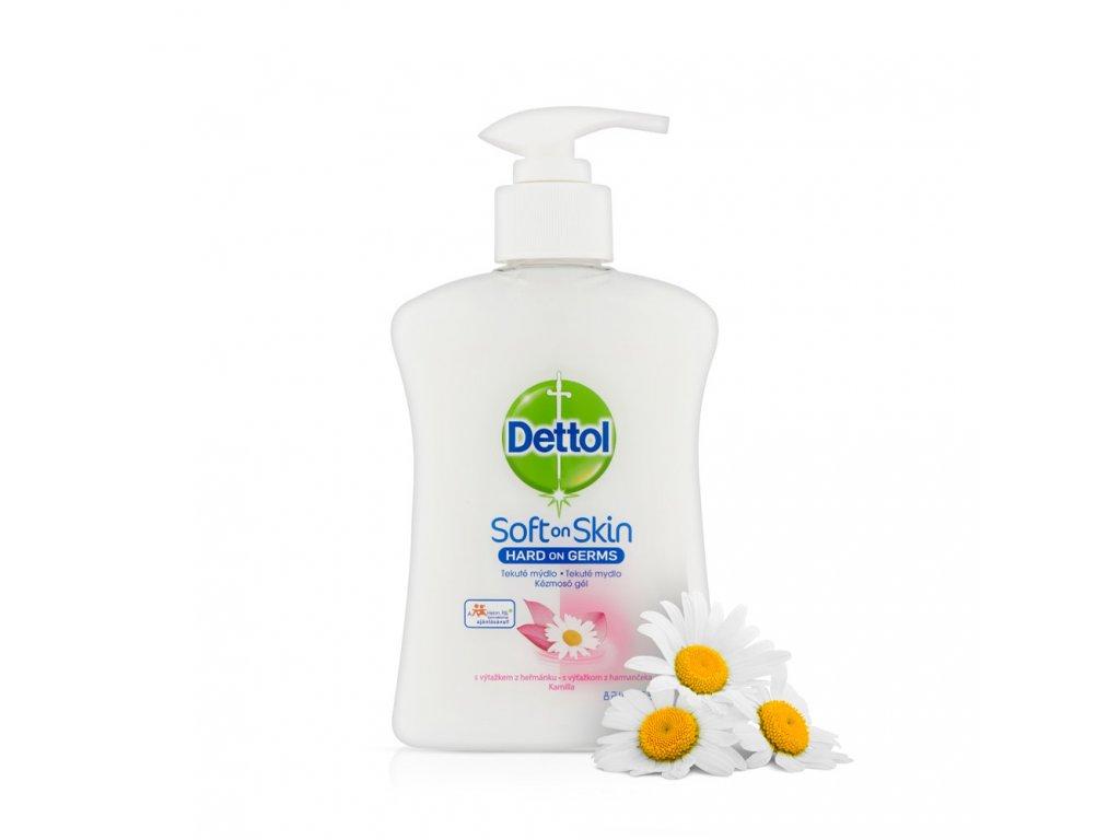 Dettol tekute antibakterialni mydlo 500 ml hermanek